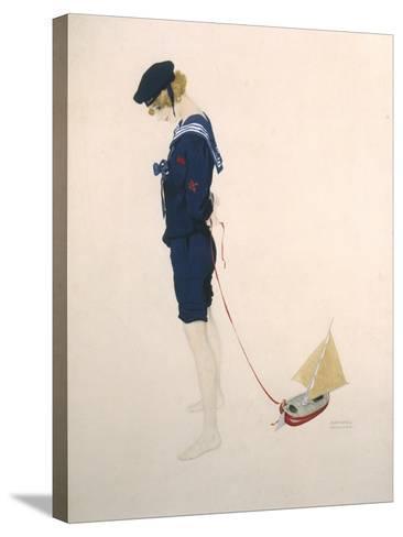 Sailor Girl-Ernst Ludwig Kirchner-Stretched Canvas Print