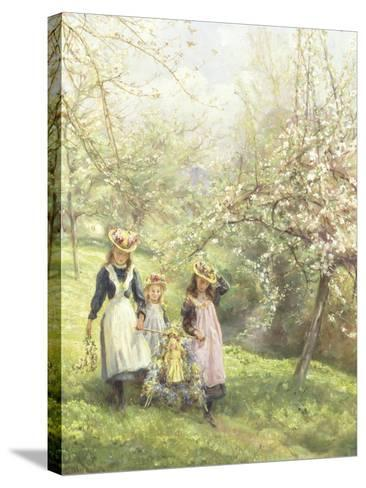May Day-Edgar Barclay-Stretched Canvas Print