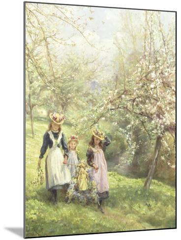 May Day-Edgar Barclay-Mounted Giclee Print