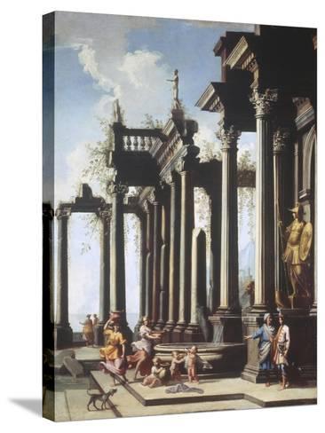 Roman Capriccio-Viviano Codazzi-Stretched Canvas Print
