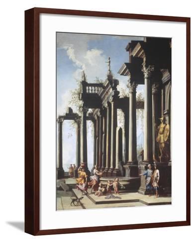 Roman Capriccio-Viviano Codazzi-Framed Art Print