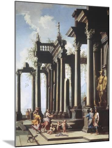 Roman Capriccio-Viviano Codazzi-Mounted Giclee Print