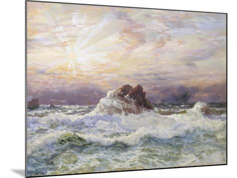Glorious Sunset-John Brett-Mounted Giclee Print