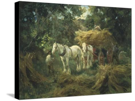 Loading the Hayrick-Arthur Lemon-Stretched Canvas Print