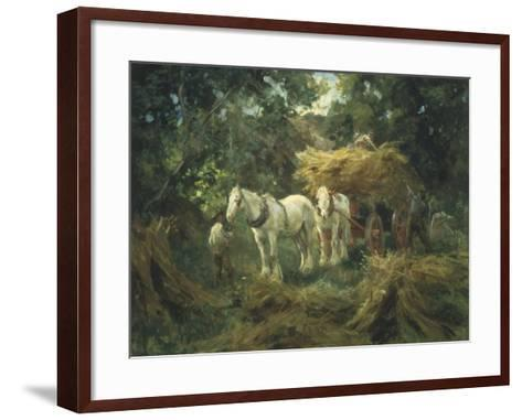 Loading the Hayrick-Arthur Lemon-Framed Art Print