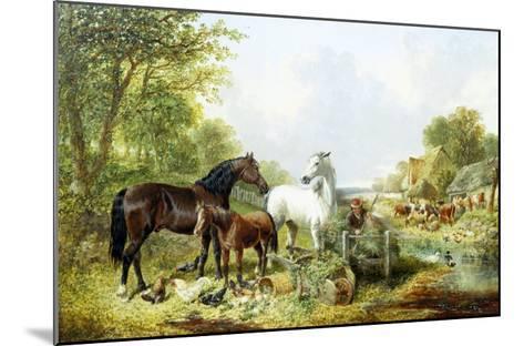 Ready for Work-John Frederick Herring II-Mounted Giclee Print