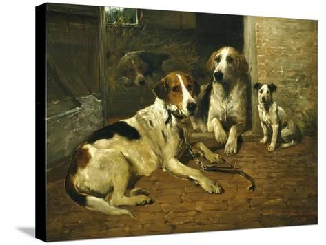 Time for a Walk-John Emms-Stretched Canvas Print