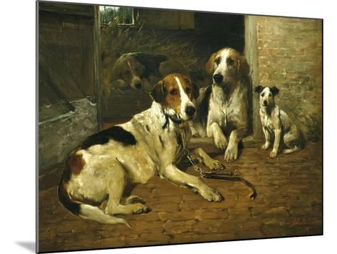 Time for a Walk-John Emms-Mounted Giclee Print