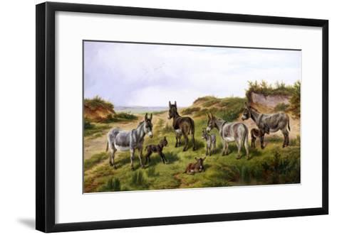 Family Friends-Charles Jones-Framed Art Print