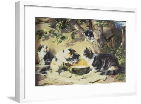Happy Family-Julius Adam-Framed Art Print
