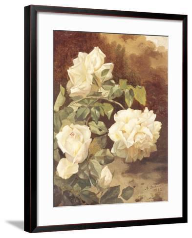 Roses-Alexandre Debrus-Framed Art Print