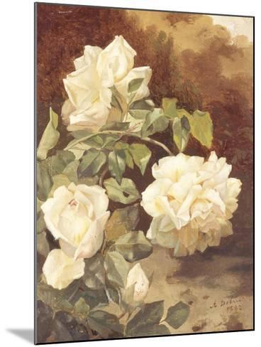 Roses-Alexandre Debrus-Mounted Giclee Print