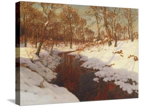 November Evening, c.1923-Ivan Fedorovich Choultse-Stretched Canvas Print