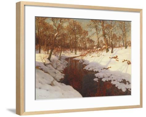 November Evening, c.1923-Ivan Fedorovich Choultse-Framed Art Print