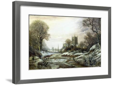 Worcester from the South West-Charles Leaver-Framed Art Print