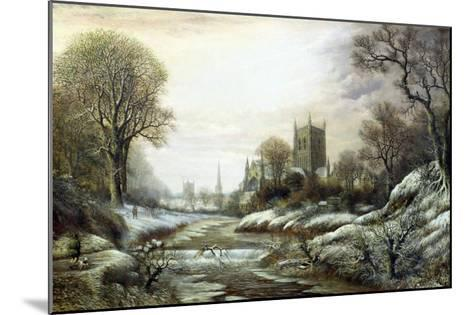 Worcester from the South West-Charles Leaver-Mounted Giclee Print
