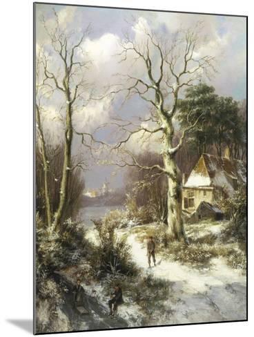 Christmas Eve-Hendrik Barend Koekkoek-Mounted Giclee Print