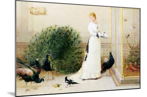In the Conservatory-Heywood Hardy-Mounted Giclee Print
