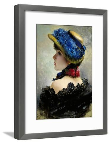 Pretty as a Picture-Vittorio Corcos-Framed Art Print