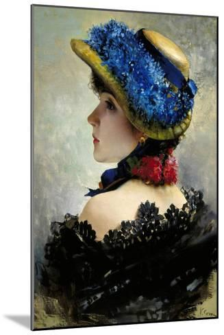 Pretty as a Picture-Vittorio Corcos-Mounted Giclee Print