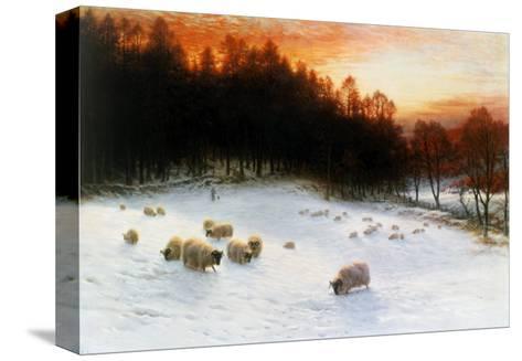 Winter Sunset-Joseph Farquharson-Stretched Canvas Print