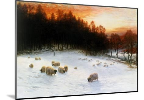 Winter Sunset-Joseph Farquharson-Mounted Giclee Print