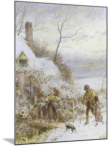 Going Home-Myles Birket Foster-Mounted Giclee Print