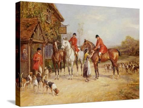 Outside the Three Crowns-Heywood Hardy-Stretched Canvas Print