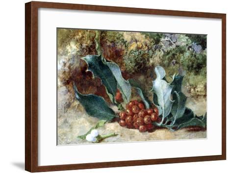 Christmas Holly-Jabez Bligh-Framed Art Print