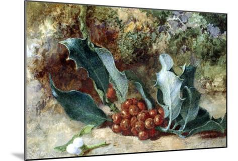 Christmas Holly-Jabez Bligh-Mounted Giclee Print