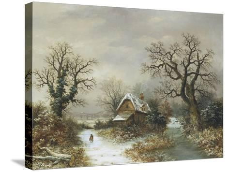Christmas Eve-Charles Leaver-Stretched Canvas Print