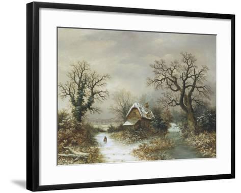 Christmas Eve-Charles Leaver-Framed Art Print