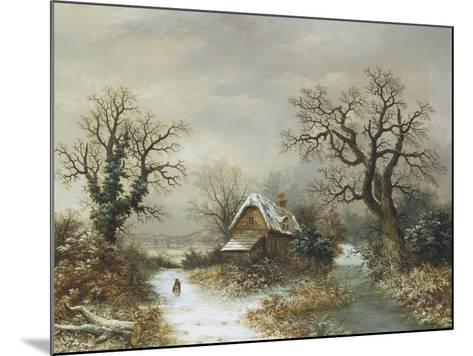 Christmas Eve-Charles Leaver-Mounted Giclee Print