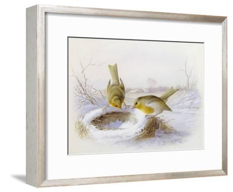 Last Year's Nest-Harry Bright-Framed Art Print