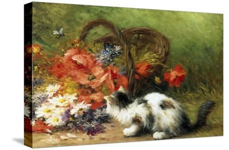 The Overturned Basket-Leon Charles Huber-Stretched Canvas Print