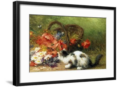 The Overturned Basket-Leon Charles Huber-Framed Art Print