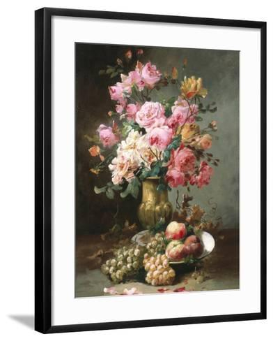 The Flowers and Fruits of Summer-Alfred Godchaux-Framed Art Print
