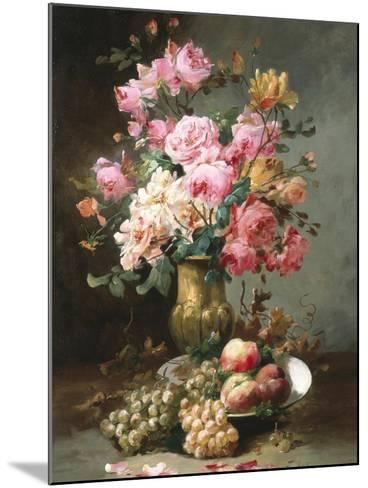 The Flowers and Fruits of Summer-Alfred Godchaux-Mounted Giclee Print