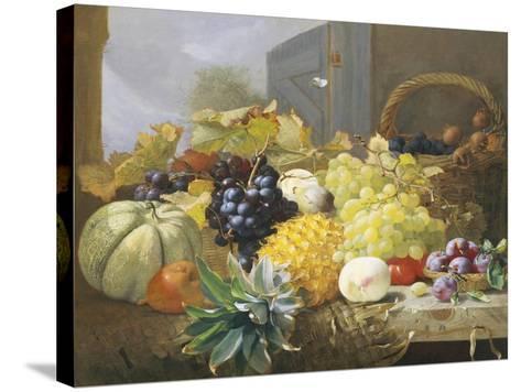 Abundance of Fruit-Eloise Harriet Stannard-Stretched Canvas Print