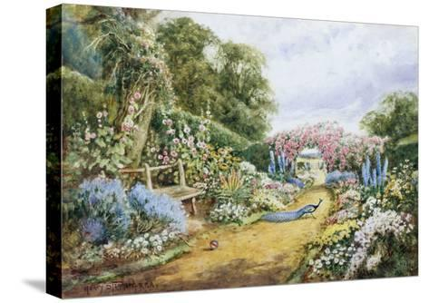 English Country Garden-Henry Stannard-Stretched Canvas Print
