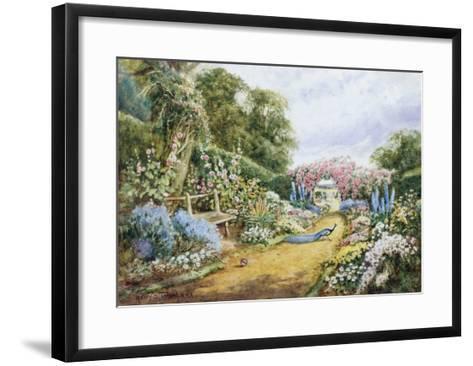 English Country Garden-Henry Stannard-Framed Art Print