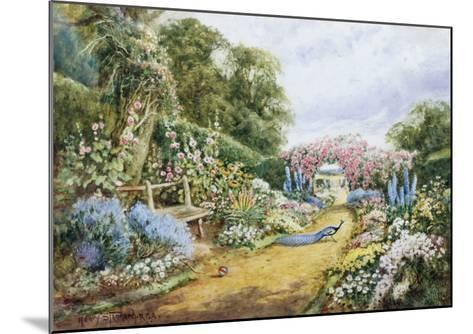 English Country Garden-Henry Stannard-Mounted Giclee Print