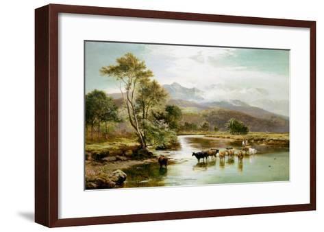 Cader Idris from the River Mawddach-Sidney Richard Percy-Framed Art Print