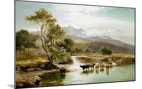 Cader Idris from the River Mawddach-Sidney Richard Percy-Mounted Giclee Print