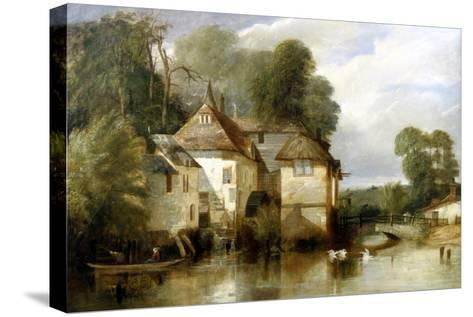 Arundel Mill, Sussex-James Baker Pyne-Stretched Canvas Print
