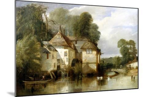 Arundel Mill, Sussex-James Baker Pyne-Mounted Giclee Print
