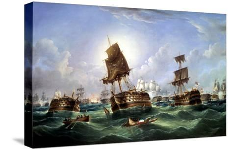 The Day After the Battle of Trafalgar, c.1867-Richard Spencer-Stretched Canvas Print