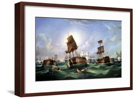 The Day After the Battle of Trafalgar, c.1867-Richard Spencer-Framed Art Print