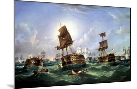 The Day After the Battle of Trafalgar, c.1867-Richard Spencer-Mounted Giclee Print