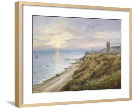 View of Cromer, Norfolk, from the West-John Moore-Framed Art Print